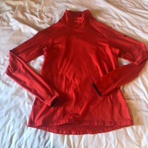 Nike Pro Dry Fit Red Pull Over Running Sweater XL